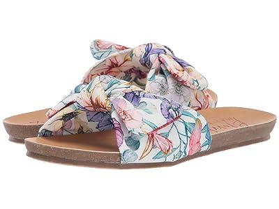 Blowfish Kids Gett K (Little Kid/Big Kid) (White Venus Floral) Girls Shoes