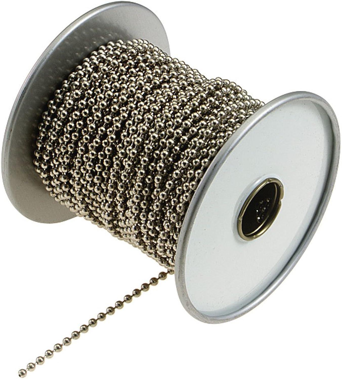 Lucky Line Ball Chain, No   10, Silver, 100-Feet (32500)