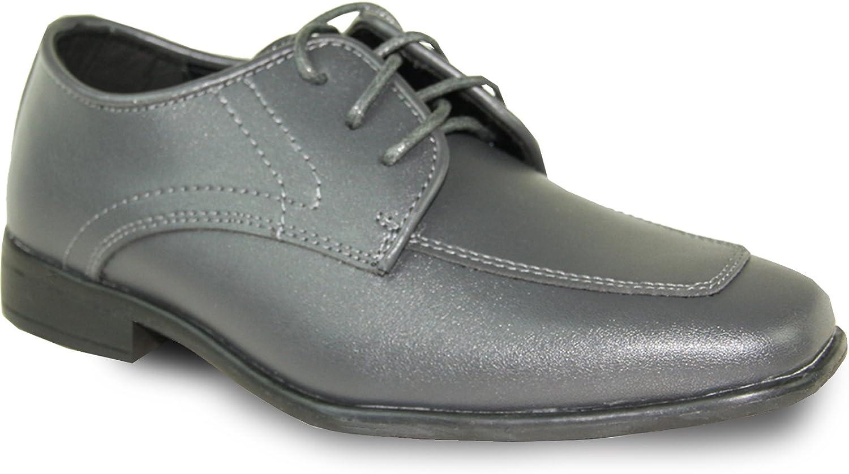 Allure Men Boy Dress shoes AL01KID Wrinkle Free Tuxedo for Prom & Formal Events