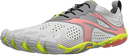 Vibram FiveFingers 17w7006 V-Run 37, Chaussures de FonctionneHommest Femme, gris (Oyster),