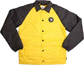 Vans Men's X The North Face Torrey MTE Jacket (Large, Yellow/Black)