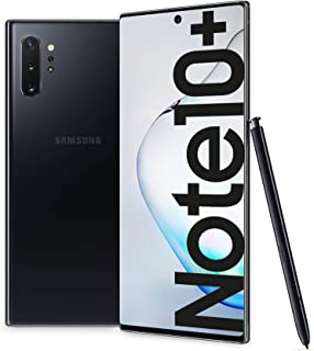 "Samsung Galaxy Note10+ Smartphone, Display 6.8"" Dynamic AMOLED, 256 GB Espandibili, SPen Air Action, RAM 12 GB, Batteria 4..."
