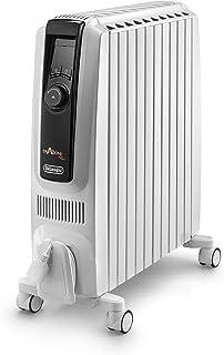 De'Longhi Dragon 4 Pro TRDX1025E - Radiador 2500 W, termostato de ambiente digital, pantalla LCD, función ECO y alto rendimiento energético