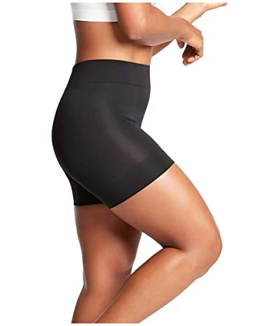 Yummie Bria No Roll Shorts w/ Wide Hem (Black) Women