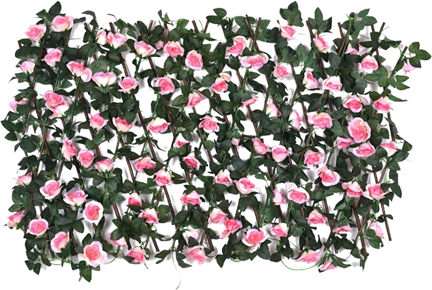 AIKY Artificial Hedges Faux Ivy Fence Spasm price Expandable Artifici Popular standard Leaves