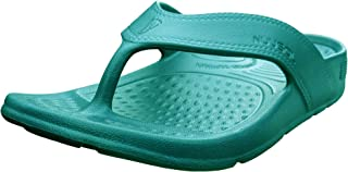NUUSOL Unisex Cascade Flip Flops; Non-Slip Hiking/Plantar Fasciitis Footwear; Soft Cushion, Lightweight, Arch Support & Textured Footbed, Pain Relief for Joint, Neck & Back Injuries