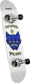 hoopla skateboards Samarria Brevard Panther Shape 112 Complete Skateboard, 7.75