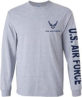 U.S. Air Force long sleeve T-shirt. Navy Blue or Sports Grey