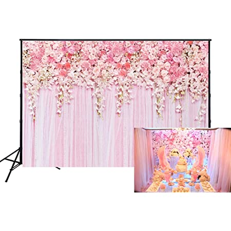 Floral 10x15 FT Photo Backdrops,Vintage Floral Pattern of Tender Flowers Summer Berries Retro Hand Drawn Ornament Background for Baby Shower Bridal Wedding Studio Photography Pictures Camel White