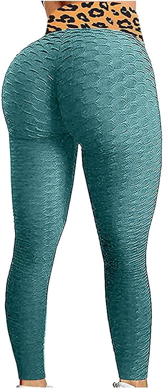 Peach Lift Leggings for Women,Sexy Butt Lifting Workout Leggings for Women Textured Booty High Waist Yoga Pant
