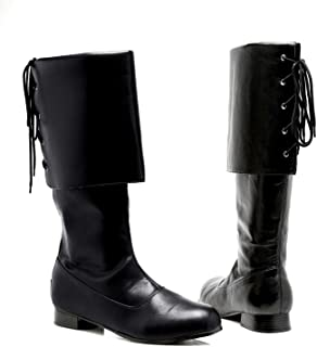 Men's Sparrow Pirate Costume Boots - Buccaneer Shoes