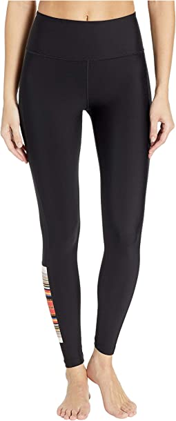 Quick Dry Pendleton Acadia Surf Leggings