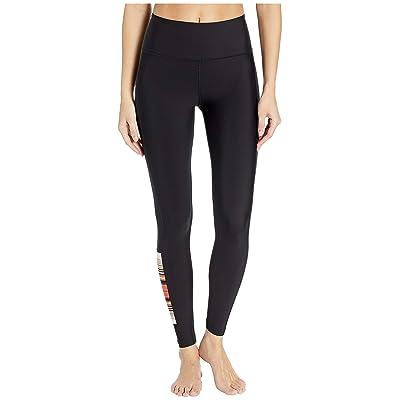 Hurley Quick Dry Pendleton Acadia Surf Leggings (Black) Women