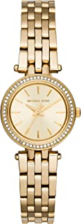 Michael Kors Womens Analogue Quartz Watch with Stainless Steel Strap MK3295