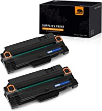 JARBO 2 Black Compatible for Samsung 105L MLT-D105L MLT105L Toner Cartridges High Yield, Use with Samsung ML-2525W ML-2525 ML-2545 ML-1915 SCX-4623F SCX-4623FW SCX-4623FN SF-650 SF-650P Printer
