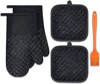 Fourmis et maniques Unisexes pour Cadeaux de Petite Amie Petite Amie Hdadwy Gants de Cuisine et maniques Jolis Gants et maniques de Cuisine Stitch