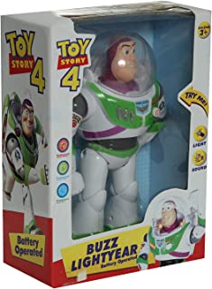 Toy Story Buzz Operated Toy For Boys, White
