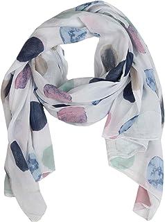 Cashmere Dreams Sciarpa di seta per donna con stampa a pois di 'Zwillingsherz' / Elegante accessorio per donna può anche e...