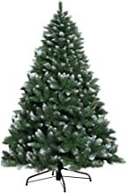 1.8M Christmas Tree 6FT Xmas Faux Snowy Green Tree Thick Foliage Jingle Jollys Holiday Decoration Indoor Décor Home Office...