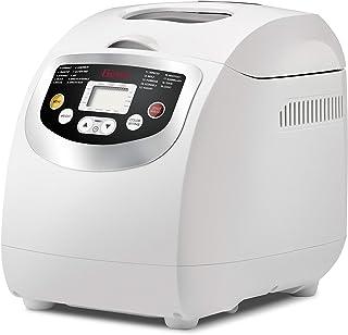 comprar comparacion Girmi MP20 - Panificadora (Blanco, 1 kg, Pastel de masa, Masa, Pan francés, Pan sin gluten, Masa para pizza, Pan de trigo,...