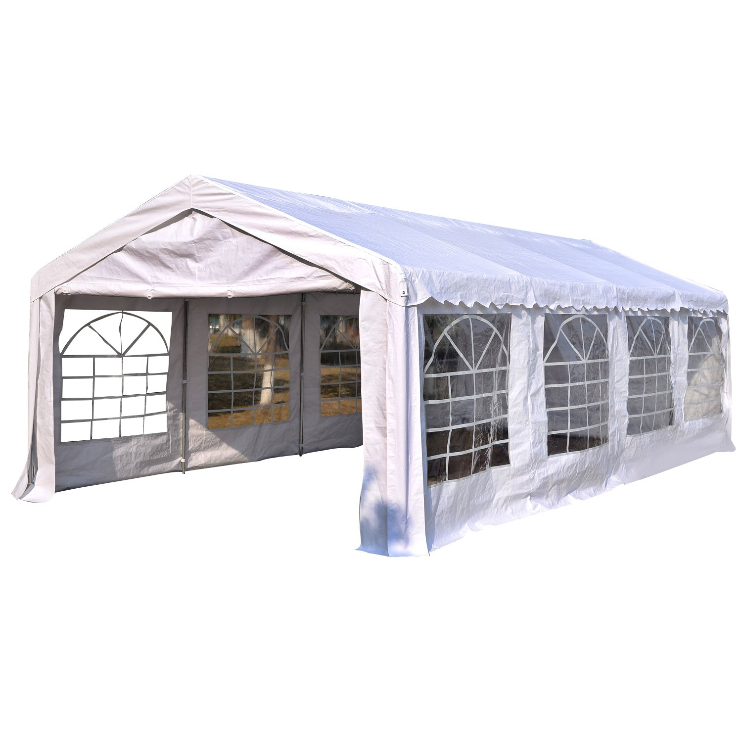 Outsunny Garden Gazebo Marquee Party Tent Wedding Portable Garage Carport shelter Car Canopy Outdoor Heavy Duty  sc 1 st  Amazon UK & Wedding Tents: Amazon.co.uk