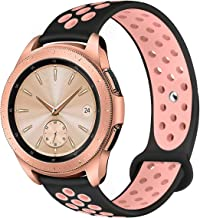 Compatible for Samsung Galaxy Watch 42mm Band/Galaxy Watch Active 40mm Bands,YiJYi 20mm Silicone Strap Sports Replacement Wristband for Women Men