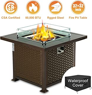 Best propane outdoor fire pit Reviews
