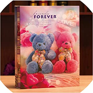 Photo Albums 2019 Creative Photo Album 5R 7-Inch Insert Type 200 Boxed Family Growth Album Family Memory Record Large Volume Souvenir Album,9