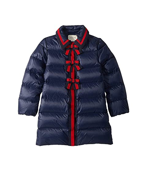 3bf43ab7b Gucci Kids Quilted Coat w/ Hood (Little Kids/Big Kids) at Luxury ...