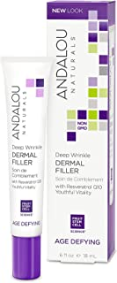 Andalou Naturals Deep Wrinkle Dermal Filler, 0.6 Ounces