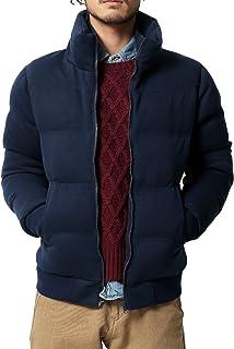 [ロッキーモンロー] ダウンジャケット 中綿ジャケット ブルゾン ジャケット メンズ