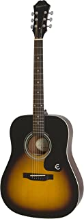 Epiphone FT-100 Acoustic Guitar, Vintage Sunburst