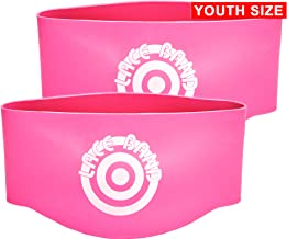 Unique Sports Youth Lace Bands Soccer Cleat Lace Protector, Youth Size Youth Neon Pink