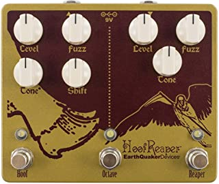 EarthQuaker Devices Hoof Reaper V2 Double Fuzz Guitar Effects Pedal with Octave Up