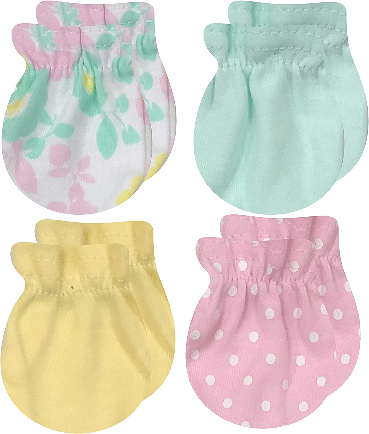 Max 63% OFF MODERN Some reservation BABY Newborn Mittens For Baby 4 0- Pack Girls Boys
