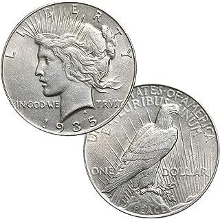 Silver Peace Dollar $1 AU