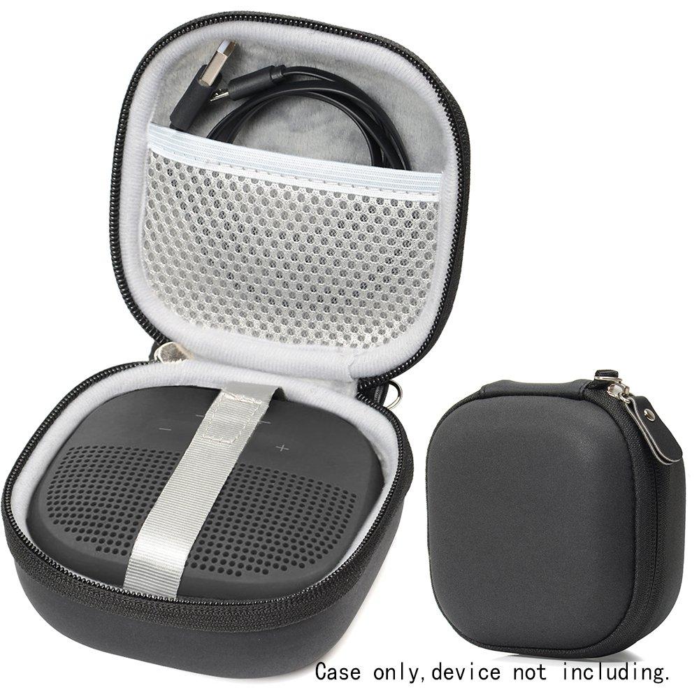 特色设计的 Bose SoundLink 微型蓝牙扬声器保护壳,设计独特,带用于连接线和其他配件的网袋,弹性带*设备WG011779