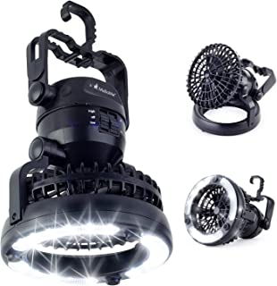 LED Camping Gear Lantern Fan Gift – Cool Gadget Supplies...