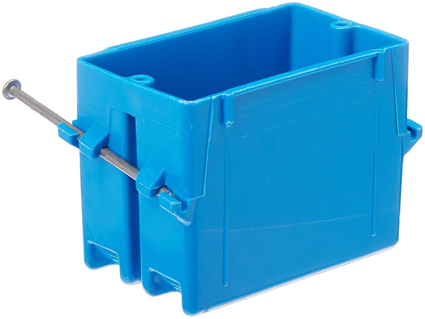 Lamson B118AR-UPC Carlon Single Gang Box With Nail