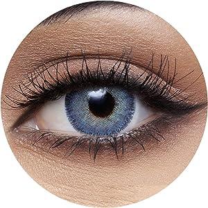 Anesthesia Dream Blue Unisex Contact Lenses, Anesthesia Cosmetic Contact Lenses, 6 Months Disposable - Dream Blue Color