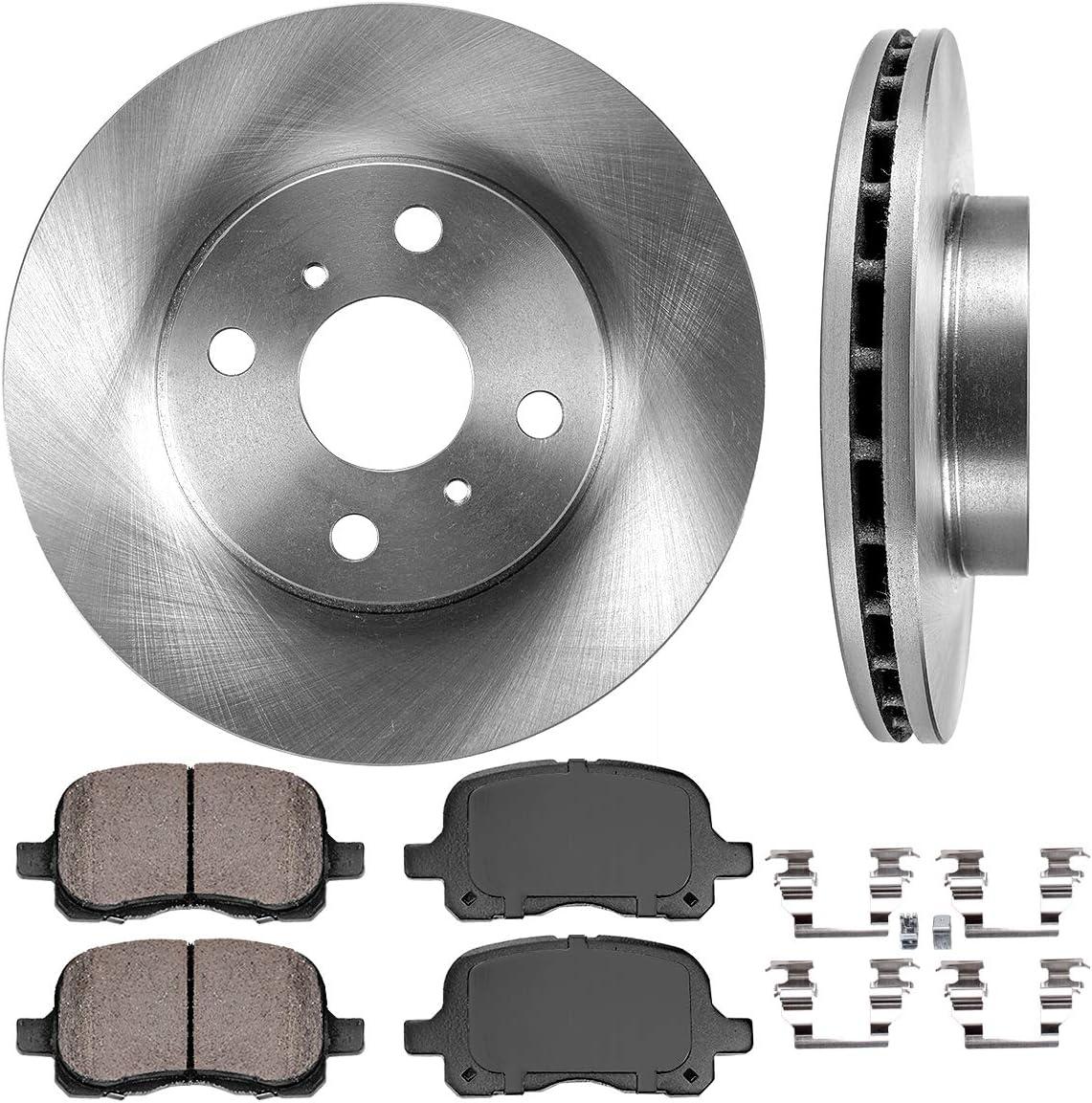 Ranking TOP12 CRK11124 FRONT 255 mm Premium OE 4 Rotors Brake Disc Lug 2 Max 46% OFF +