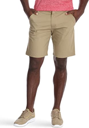 Wrangler Authentics Men's Performance Comfort Waist Flex Flat Front Short