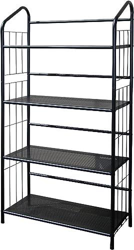 new arrival ORE wholesale International Four Tier outlet sale Metal Book Rack sale