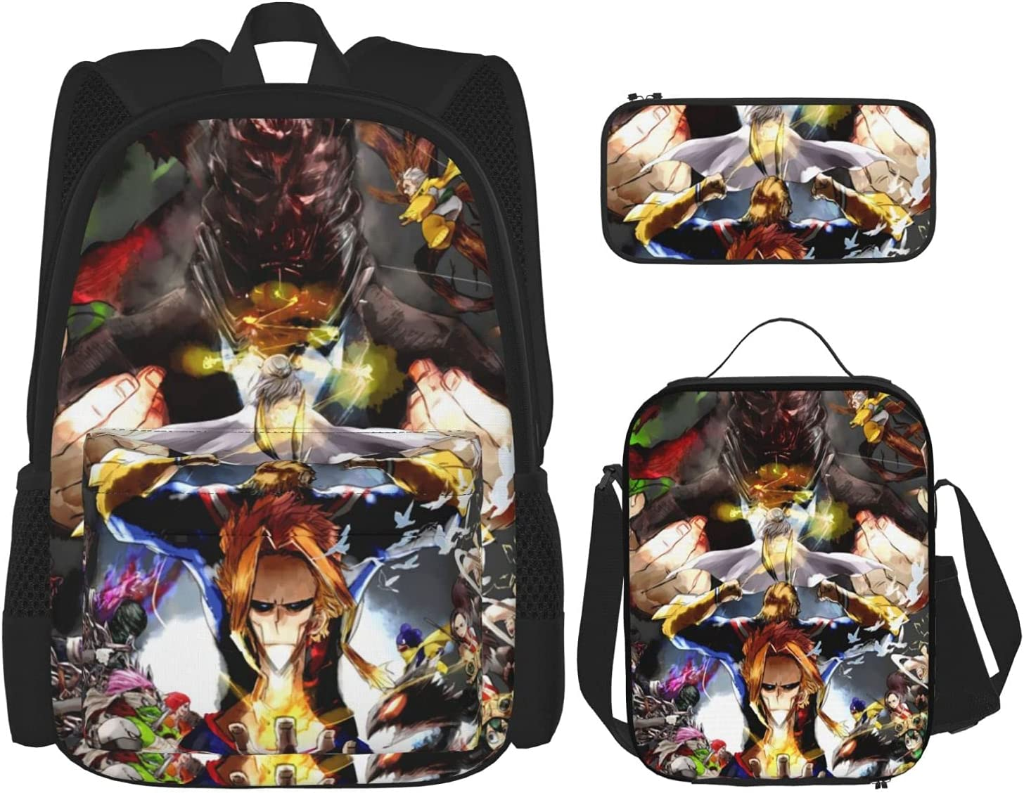 My Hero Academia All·Might Student Youth Ranking TOP7 3 Se Piece Backpack Set Popular popular