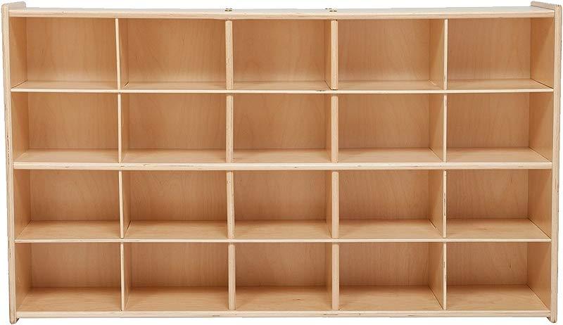 Sprogs 20 Tray Wooden Storage Unit Unassembled SPG 70930