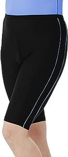 HydroChic Women's Swim Shorts – Chlorine Proof Long Bike Shorts Swimsuit Bottoms