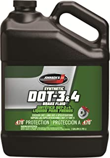 Johnsen's 5034 Premium Synthetic DOT-4 Brake Fluid - 1 Gallon
