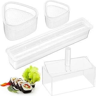 4 Stück Sushi Maker Form-Set, Antihaft-Spam, Musubi Pressfo