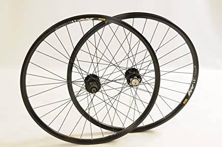 HYBRID TREKKING BIKE WHEELS SHIMANO RM40 SUIT 8// 9 SPEED 622x19 PAIR 700c