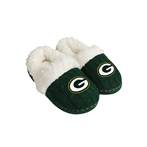 Reasonable Womens Colorblock Fur Slide Slippers Forever Collectibles House Shoes Clothing, Shoes & Accessories Fan Apparel & Souvenirs